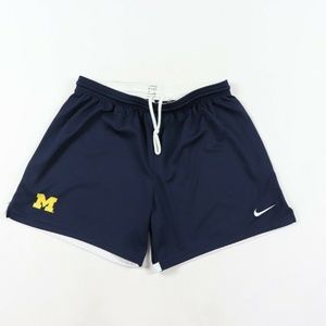 Nike Team Issued Michigan Wolverines Soccer Shorts